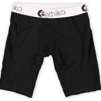 Ethika The Staple Black Boxer Briefs