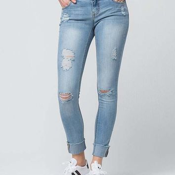 RSQ Melrose Cuff Ankle Womens Jeans   Ankle