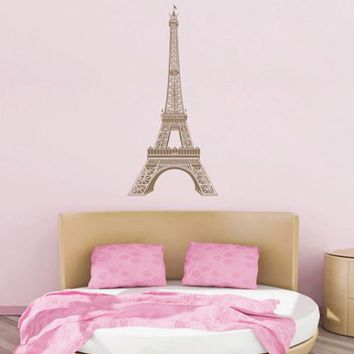 ik1687 Wall Decal Sticker Eiffel Tower Paris France Landmark children's room