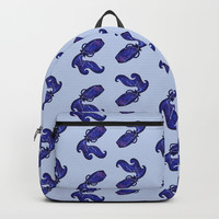 Astrological sign aquarius constellation Backpack by savousepate