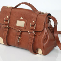 Free Shipping Alexa Steel Bag Oak Color Latest by matchesk
