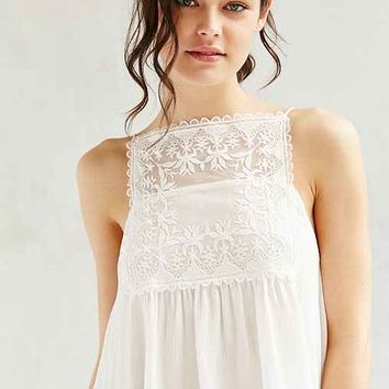 Kimchi Blue Embroidered Square Neck Cami