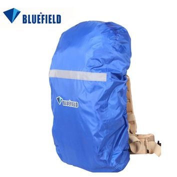 BlueField Outdoor Bag Backpack Rain Cover Rucksack Raincoat Waterproof With Reflective Strip for Hiking Camping Traveling 15-75L