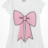 Wildfox 'Pink Bow' Tee (Big Girls) | Nordstrom