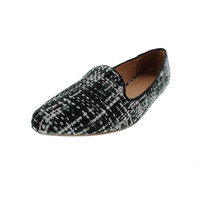 Joie Womens Day Dreaming Woven Loafer Pointy-Toe Flats
