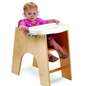 Whitnety Brothers New Wave Low High Chair
