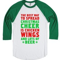The Best Way To Spread Christmas Cheer Is Chicken Wings And Lots Of...