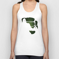 SuperHeroes Shadows : Hulk Unisex Tank Top by Lily's Factory