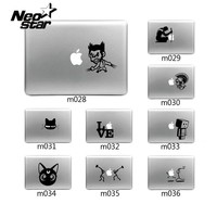 Funny Laptop Sticker Cartoon Vinyl Decal laptop Sticker For Apple Macbook Pro Air 13 11 15 laptop Skin shell for Mac book New