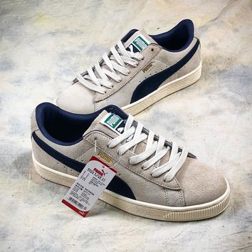 Puma Suede Classic Archive Grey Blue 365587 02 Shoes - Best Online Sale