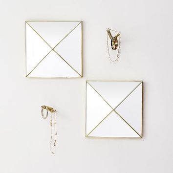 The Emily & Meritt Mirror Stud