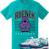 Nike Air Max 98 Charlotte Sneaker Tees Shirt to Match - RUFNEK SCRIMMAGE