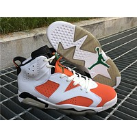 2018 air jordan retro 6 shoe Gatorade Mens Basketball Shoes top quality retros 6s Womens sport Trainer Sneakers US 5.5-13