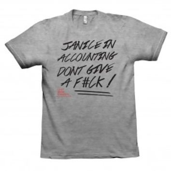 Last Week Tonight with John Oliver Janice in Accounting T-Shirt