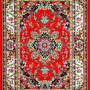 01100 Red Oriental Area Rugs