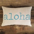 Maka Sea - Aloha Pillow / Turquoise
