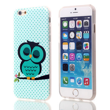Owl StyleSoft TPU Case For Apple iPhone 6 6S (mint)