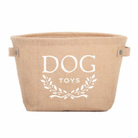 Dog Toy Storage Bin