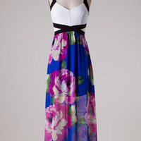 Waikiki Maxi Dress - Royal