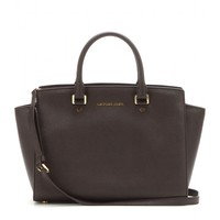 michael michael kors - selma leather tote