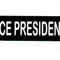 Motorcycle Helmet Sticker - VICE PRESIDENT Helmet Sticker