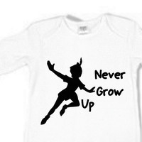 Disney Sleeper for Babies Never Grow Up Peter Pan Boy Girl Unisex 3 colors white baby blue baby pink