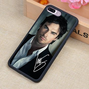 The Vampire Diaries Ian Joseph Soft TPU Skin Mobile Phone Cases OEM For iPhone 6 6S Plus 7 7 Plus 5 5S 5C SE 4 4S Cover Shell