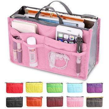 Brand Beautician Necesser Travel Vanity Necessaire Women Beauty Toiletry Make Up Makeup Cosmetic Bag Organizer Pouch Case Box 45