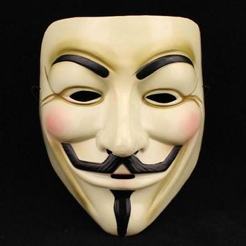 ac DCCKO2Q 1PCS  Hot Selling Party Masks V for Vendetta Mask Anonymous Guy Fawkes Fancy Dress Adult Costume Accessory Party Cosplay Masks