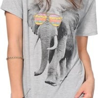 Bitter Sweet Tribal Elephant Shades T-Shirt