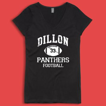 Friday Night Lights Baby One Piece Dillon Panthers Football Women'S V Neck