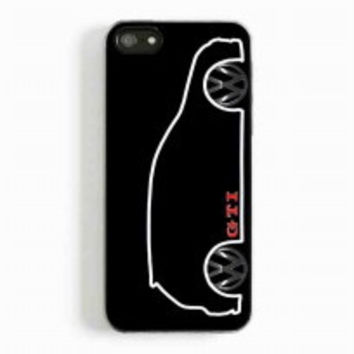 VW GTI MkV Silhouette for iphone 5 and 5c case