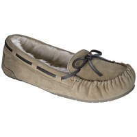 Women's Chaia Genuine Suede Moccasin Slipper - Tan
