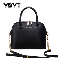 casual black small chains totes shell handbags hotsale women evening clutch ladies purse famous designer shoulder crossbody bags