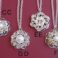 Bridesmaids Jewelry, 20 Choices, U Pick, Jewelry for Bridesmaids,Christmas Gifts, Stocking Stuffer, Holiday Party Jewelry