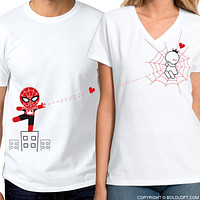 Captured by Your Love™ His & Hers Matching Couple Shirt Set