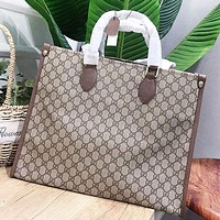 GUCCI Fashion New More Letter Leather Shopping Leisure Shoulder Bag Women Handbag