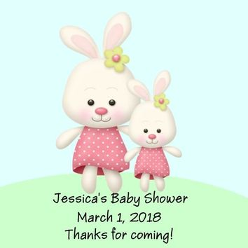 Bunny Baby Shower Favor Tags