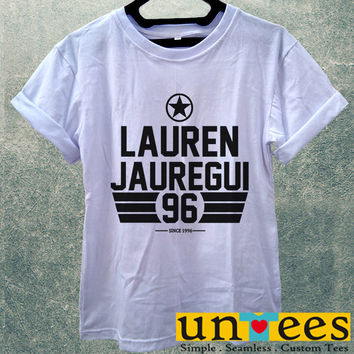 Lauren Jauregui Fifth Harmony Women T Shirt