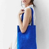 Pine + Boon Suede Dot Tote Bag-