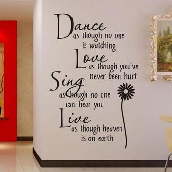 PEAPIX3 wall sticker Dance as.. 0776 stickers manufacturers cartoon style living room bedroom, children's room wall decoration stickers for home deco vinyl = 1946072772