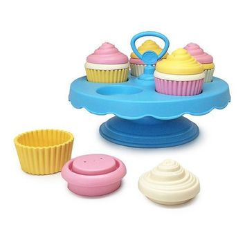 Green Toys Cupcake Set For ages 2+ years