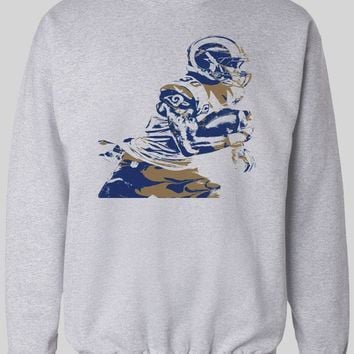 "LOS ANGELES RAM'S TODD GURLEY ""SPLASH ART"" WINTER HOODIE/ SWEATER"