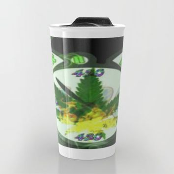 WAKE & BAKE Travel Mug by Lilbudscorner