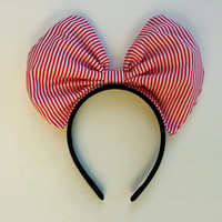 Minnie mouse bow headband