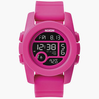 Nixon Unit 40 Watch Magenta One Size For Women 25998635301