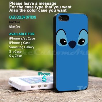 Stitch - For iPhone 5 Black Case Cover