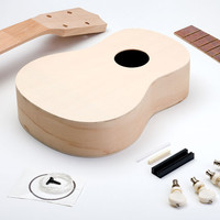 DIY UKULELE Make your own Ukulele Kit Noted