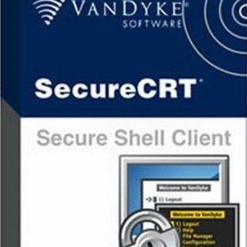 SecureCRT 8.0.2 Crack + Keygen Free Download