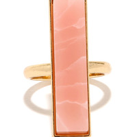 To Each Her Stone Pink Crystal Ring